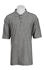 Wrangler 20X Men's Heather Charcoal S/S Polo Shirt