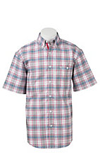 Wrangler Men's Advanced Comfort Short Sleeve Western Shirt  MACS23M