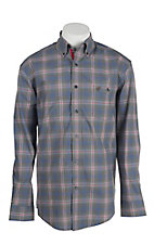 Wrangler Men's Advanced Comfort Long Sleeve Western Shirt MACS25M