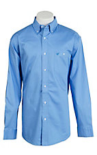 Wrangler Men's Advanced Comfort Long Sleeve Western Shirt MACS30B