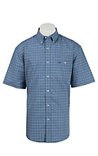 Wrangler Men's Advanced Comfort Short Sleeve Western Shirt MACS36M