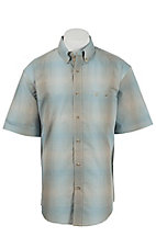 Wrangler Men's Advanced Comfort Short Sleeve Western Shirt MACS39M