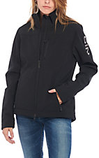 Cinch Women's Black with Grey Accents Long Sleeve Concealed Carry Bonded Jacket