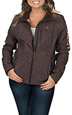 Cinch Women's Brown Bonded with Concealed Carry Pocket Jacket