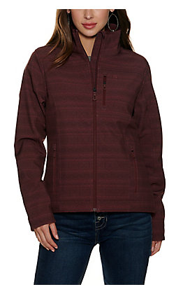 Cinch Women's Burgundy Concealed Carry Jacket
