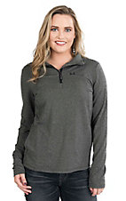 Cinch Women's Grey Long Sleeve Pull Over Jacket
