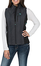 Cinch Women's Cavender's Exclusive Printed Bonded Vest