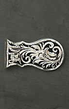 Montana Silversmiths Leather Pattern Money Clip