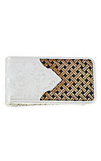 Montana Silversmiths Classic Legacy Weave Money Clip