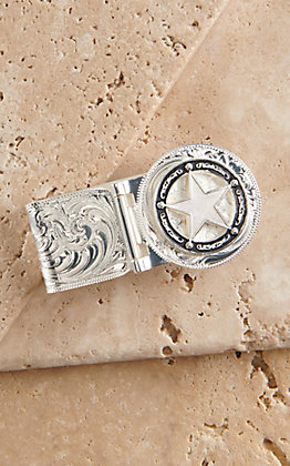 Montana Silversmiths Retro Star Money Clip