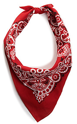 M&F Western Red Bandana