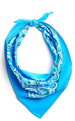 M&F Western Light Blue Bandana