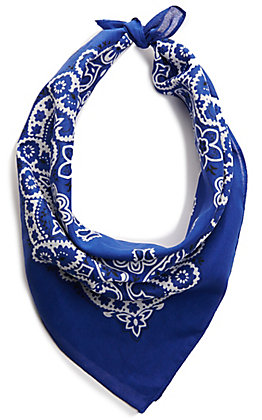 M&F Western Royal Blue Bandana
