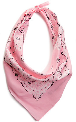 M&F Western Light Pink Bandana