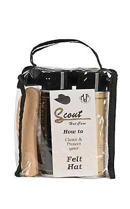 M&F Scout Light Colors Felt Hat Care Kit