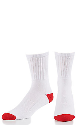 M & F Western Youth Crew Socks