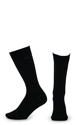 M&F Men's Boot Doctor Thin Black Boot Socks