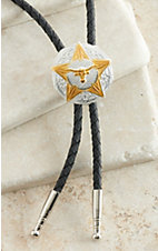 M&F Star and Longhorn Bolo Tie
