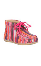 Blazin Roxx Toddler Pink Multi Fabric Chukka Shoe