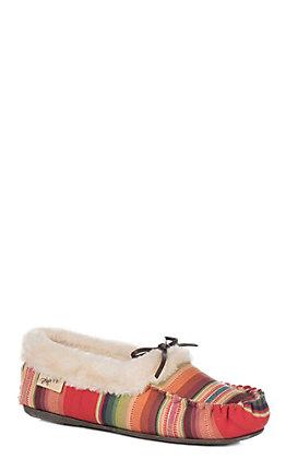 Blazin Roxx Women's Alexa Serape Moccasin Slipper