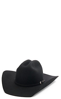 Twister 2X Dallas Black Felt Cowboy Hat