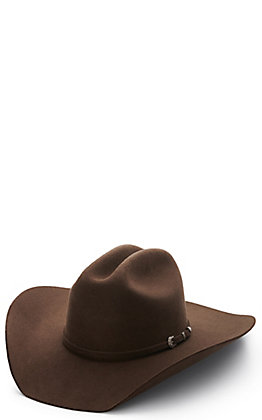 Twister Youth Dallas Chocolate Wool Cowboy Hat