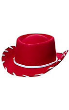 M&F Woody Red Cowboy Hat