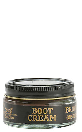 Scout Boot Care Brown Boot Cream 1.55oz Container