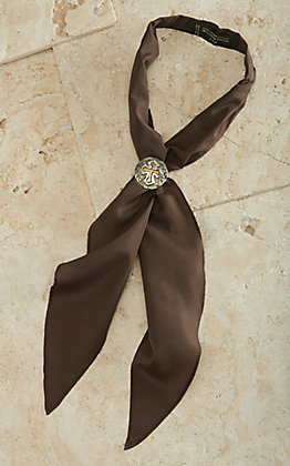 M&F Apache Scarf Tie - Brown