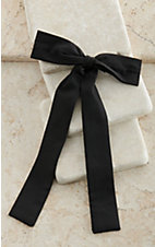 M&F Colonel Clip-On Tie - Black
