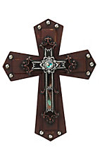 M&F Barn Wood Layered Wall Cross