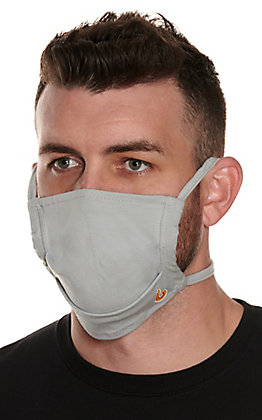Lapco Grey Flame Resistant Face Mask