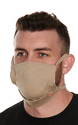 Lapco Khaki Flame Resistant Face Mask