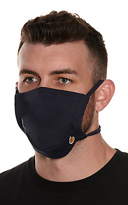Lapco Navy Flame Resistant Face Mask