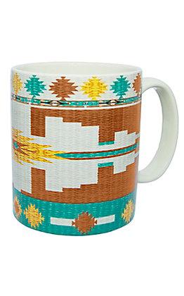 HiEnd Accents Pueblo Aztec Coffee Mug
