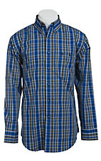 Wrangler Men's Long Sleeve Western Shirt MG2012MX- Big & Tall Sizes