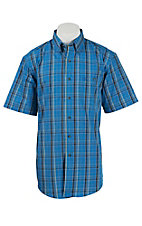 Wrangler Men's Advanced Comfort Short Sleeve Western Shirt MG4044M