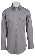 Wrangler George Strait Troubadour Men's Long Sleeve Snap Shirt MGS12GY