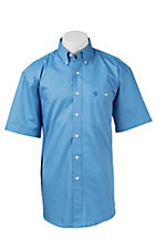 George Strait by Wrangler S/S Mens Solid Shirt MGS243B