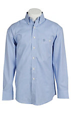 George Strait by Wrangler L/S Mens Check Shirt MGSB071
