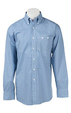 George Strait by Wrangler L/S Mens Print Shirt MGSB236X- Big & Talls