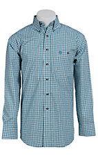 George Strait by Wrangler L/S Mens Check Shirt MGSG017