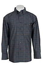 George Strait by Wrangler L/S Mens Plaid Shirt MGSH209
