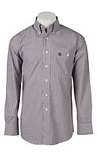 George Strait by Wrangler L/S Mens Check Shirt MGSN182