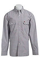 George Strait by Wrangler L/S Mens Check Shirt MGSR035
