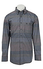 George Strait by Wrangler L/S Mens Check Shirt MGSX191