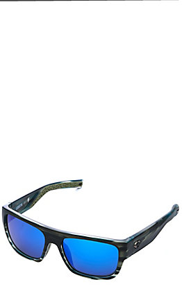 Costa Matte Reef Sampan Polarized Sunglasses