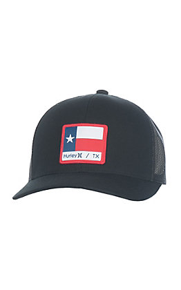 Hurley Cavender's Exclusive Black Texas State Flag Cap