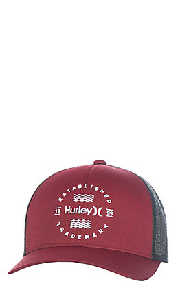 Hurley Cavender's Exclusive Red Circle Embroidery Cap