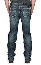Rock & Roll Cowboy Men's Pistol Straight Regular Straight Leg Dark Wash Cavender's Exclusive Jeans